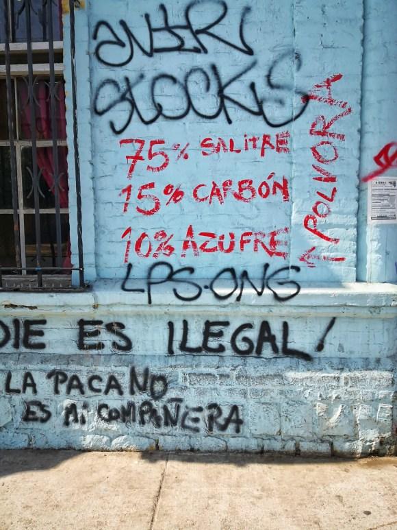 Formula de la polvora en Santiago