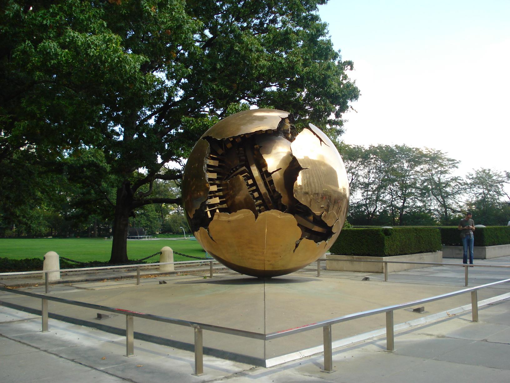 Na sede da ONU