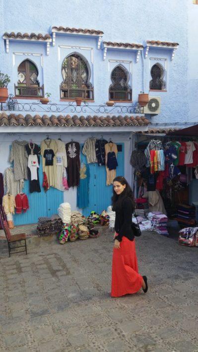 Viajar sozinha, Chefchaouen, Marrocos