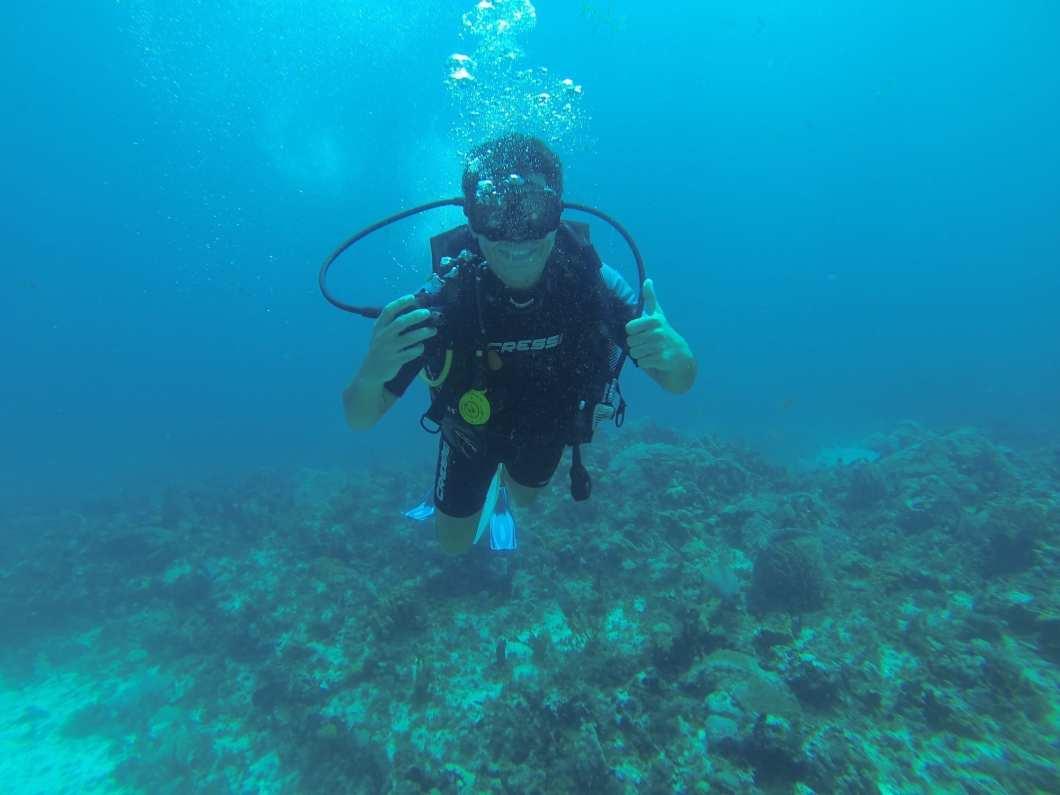 Buceando en Riviera Maya