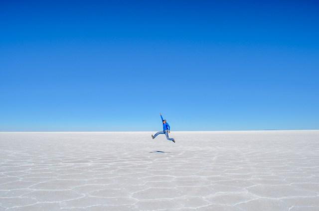 Salar de Uyuni en Bolivia espejo del cielo