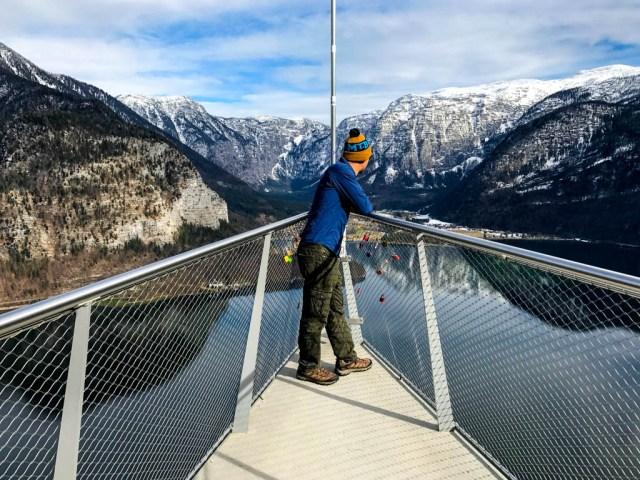 Mirador de Hallstatt en Austria