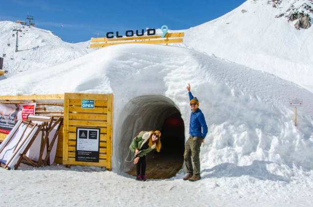 Innsbruck Igloo bar