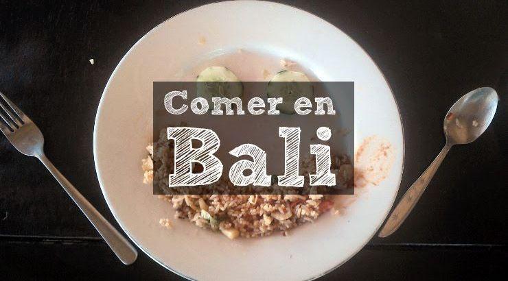 Comer en Bali