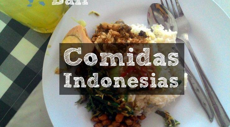 Comidas Indonesias en Bali