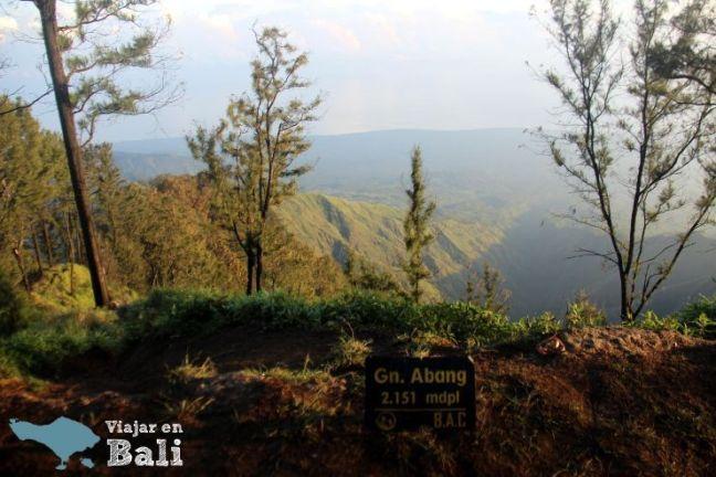 Amanecer gunung Abang Bali