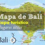 Mapa de Bali, mapa turístico de Bali y lugares útiles