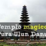 El templo del lago: Pura Ulun Danu Bratan