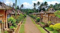 pueblo tradicional Penglipuran Bali