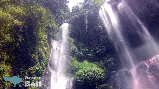 Cascada Sekumpul itinerario Bali