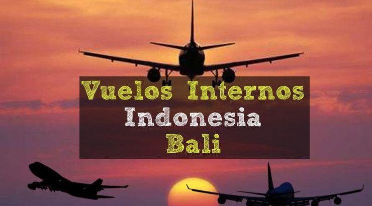 vuelos internos indonesia - Bali