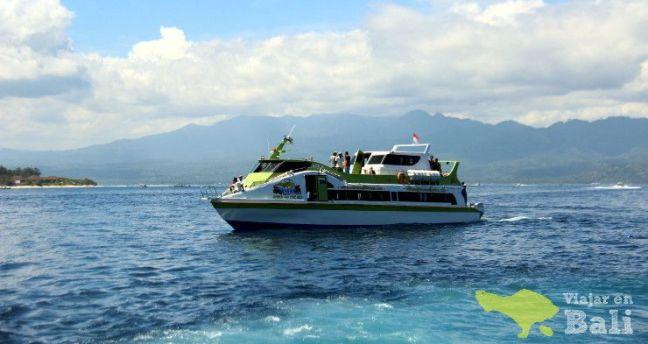 barco rápido islas Gili