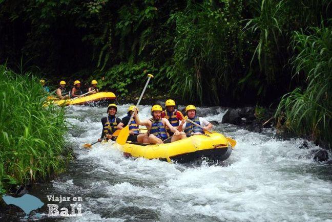Presupuesto Rafting en Bali
