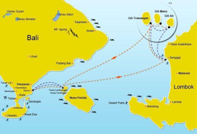 rutas-barco-rapido-islas-gili-nusa-lembongan