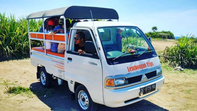 Transporte Publico en Nusa Lembongan