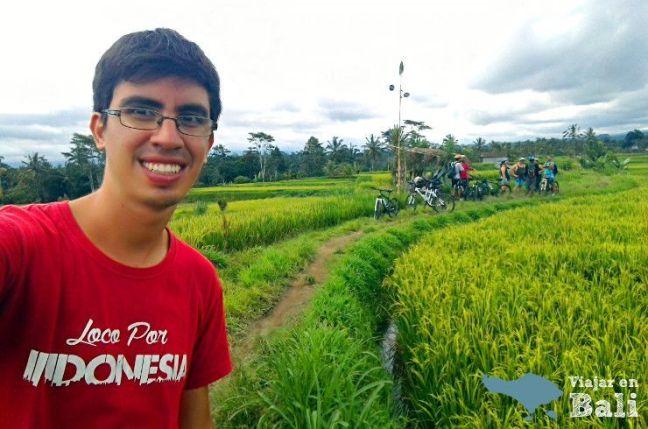 recomendacion excursion bicicleta aldeas Bali Kintamani Ubud