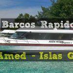 Barcos rapidos: Amed – Islas Gili