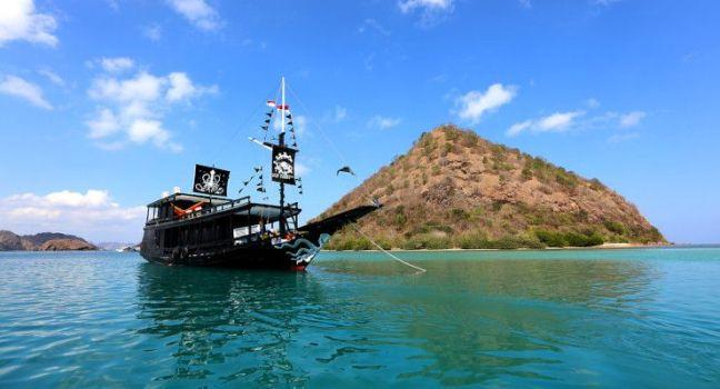 barco compartido excursion komodo