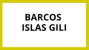 Barcos a Islas Gili