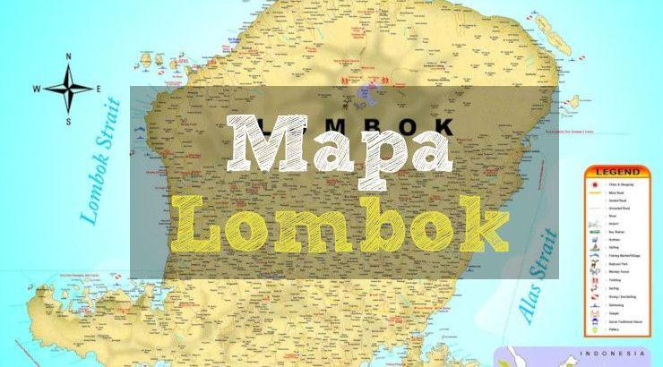 mapas de lombok