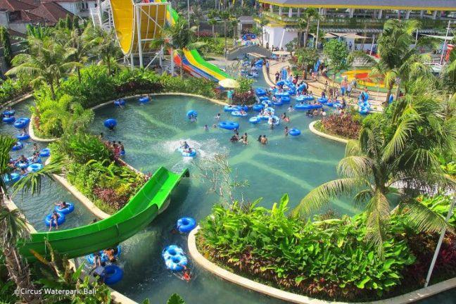 Parque acuatico circus waterpark bali
