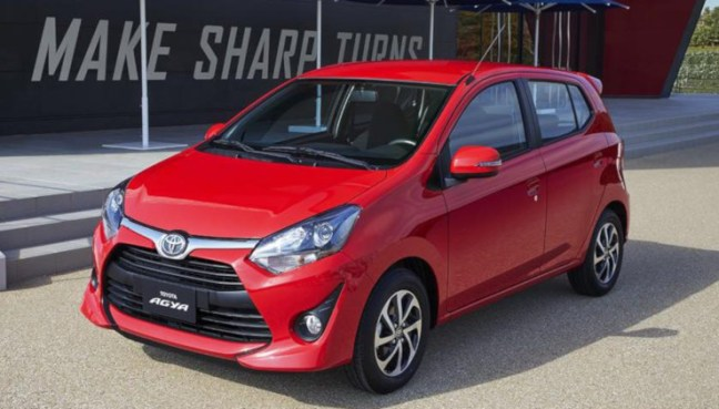 alquiler coche pequeño Bali Agya