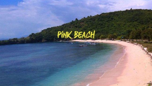 Playa rosada Lombok
