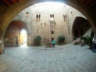 Patio Ducal del Castillo de Cardona