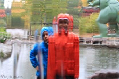 Detras de la cascada en Playmobil Fun Park