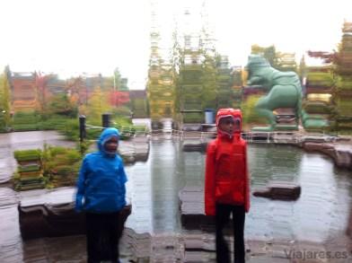 Cascada y dinosaurios en Playmobil Fun Park