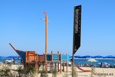 Playa familiar en la Costa Daurada
