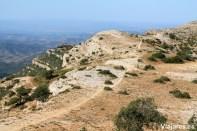 Panorama desde la cima y la Serra Major