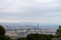 La ciudad de Barcelona a los pies del Castillo de Montjuïc