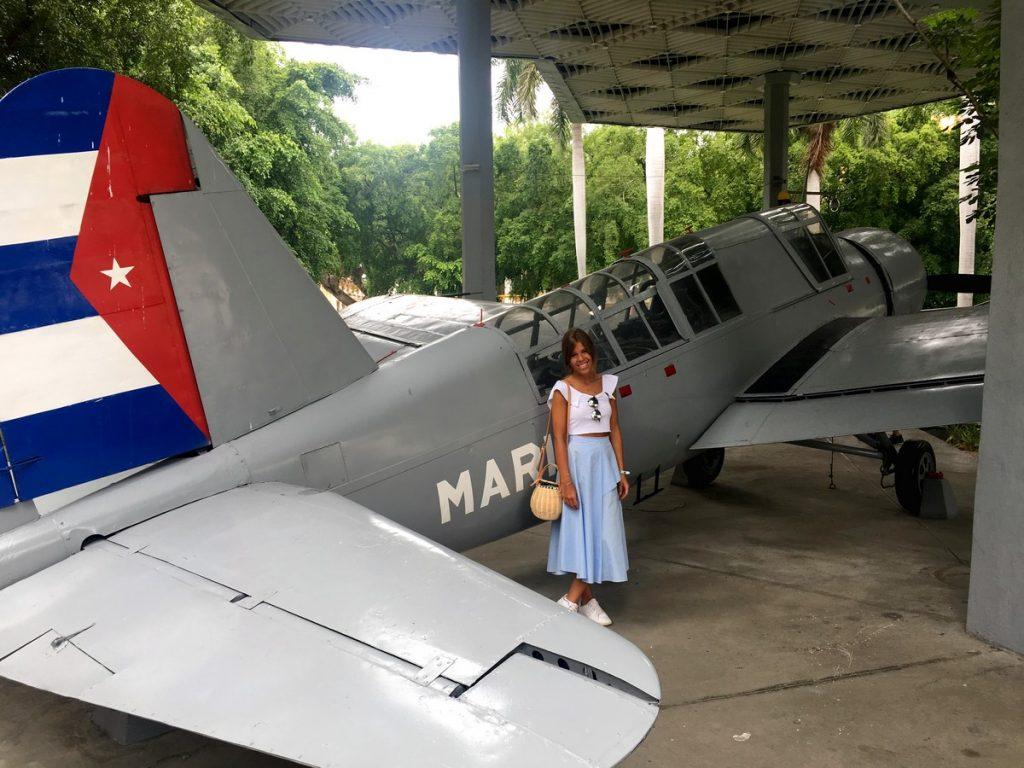 Avioneta utilizada durante la Revolución
