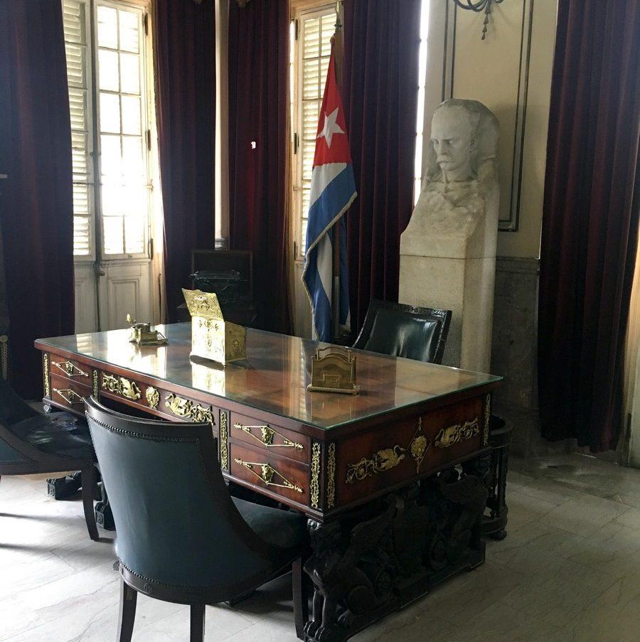 Despacho del general Batista en La Habana