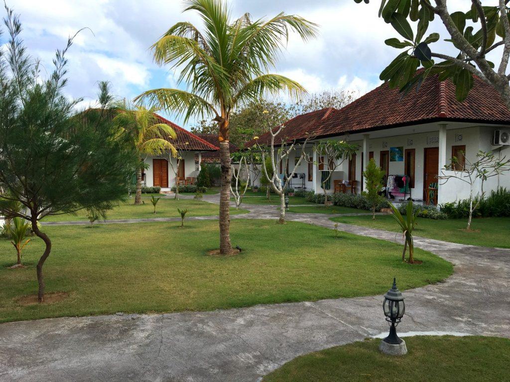 Las habitaciones del Telaga Sari, Uluwatu