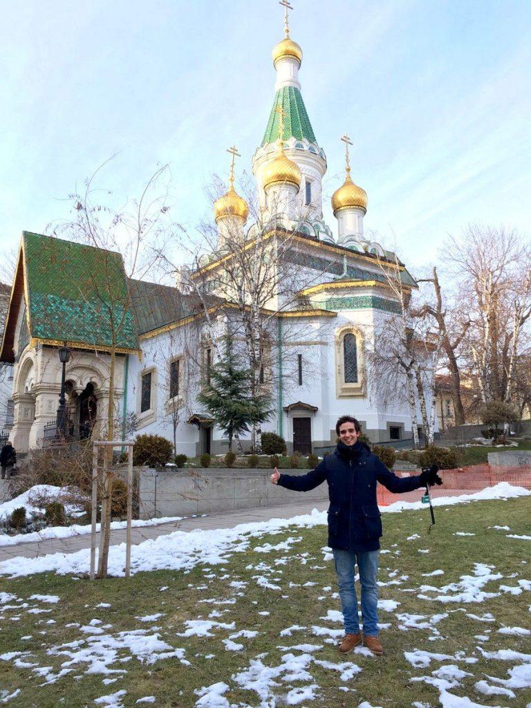 La Iglesia Rusa de San Nicolás