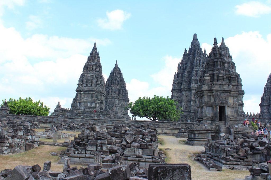 Los principales templos de Pramadan, Yogyakarta