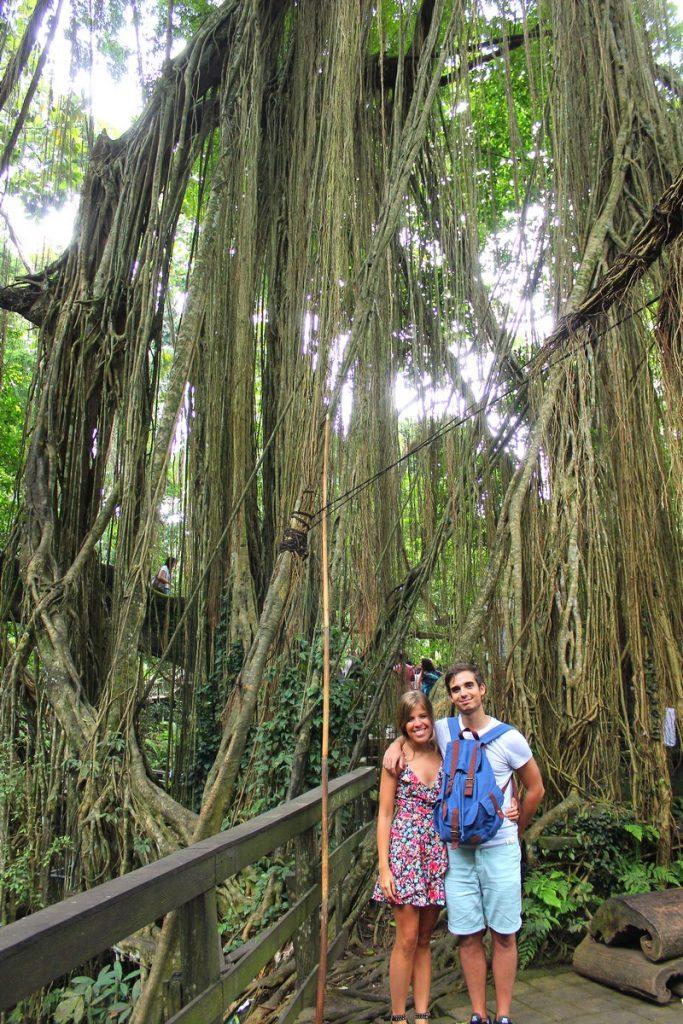 En el Holy Spring temple del Monkey Forest de Ubud