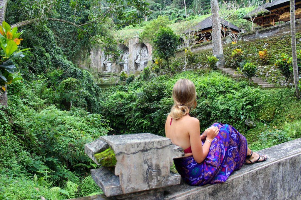 Disfrutando del Pura Gunung Kawi