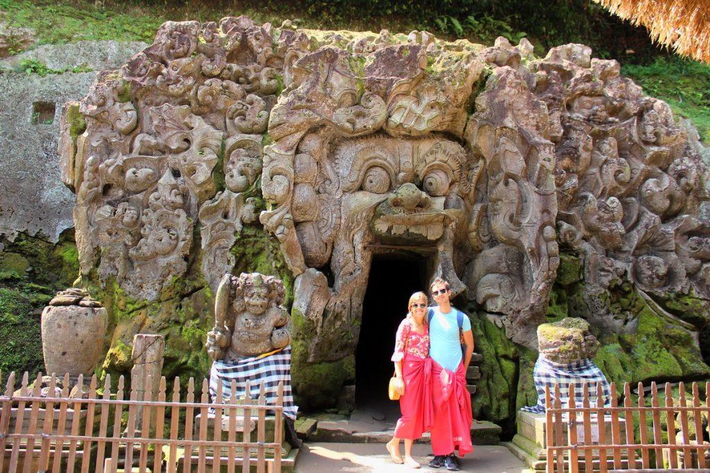 La Cueva del Elefante en Goa Gajah