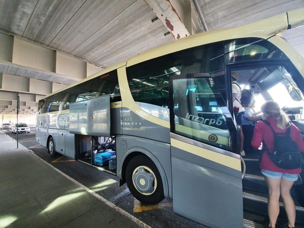 El autobús que nos llevó a Lugo