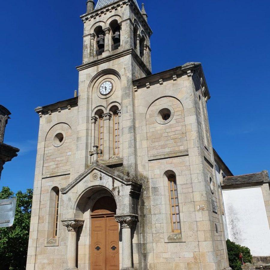La iglesia de Santa Mariña de Sarria