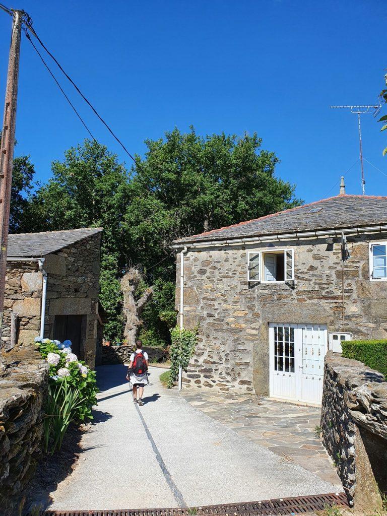 Las casitas rurales del Camino de Santiago