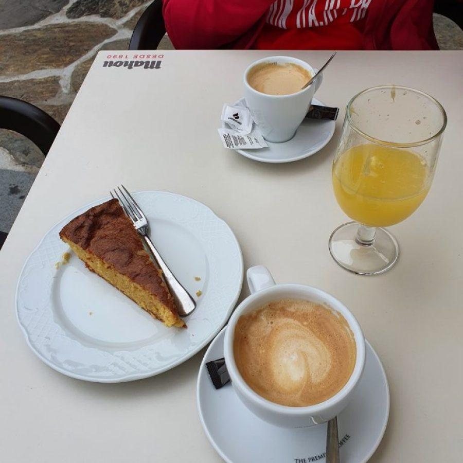 Desayunando en Casa Amancio