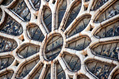 Roseton Catedral de León 02