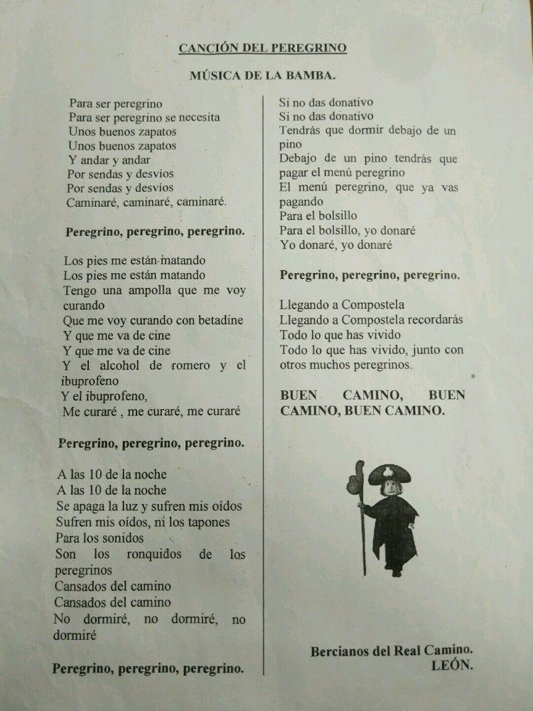 Canción del Peregrino Bercianos