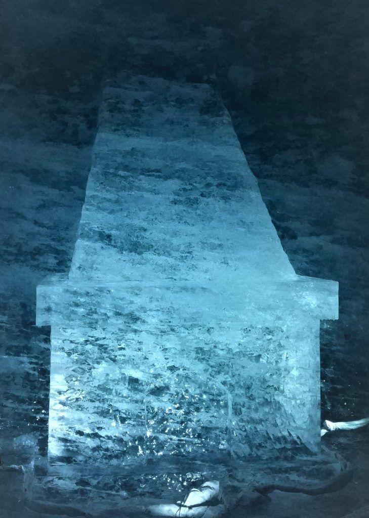 Chimenea de hielo