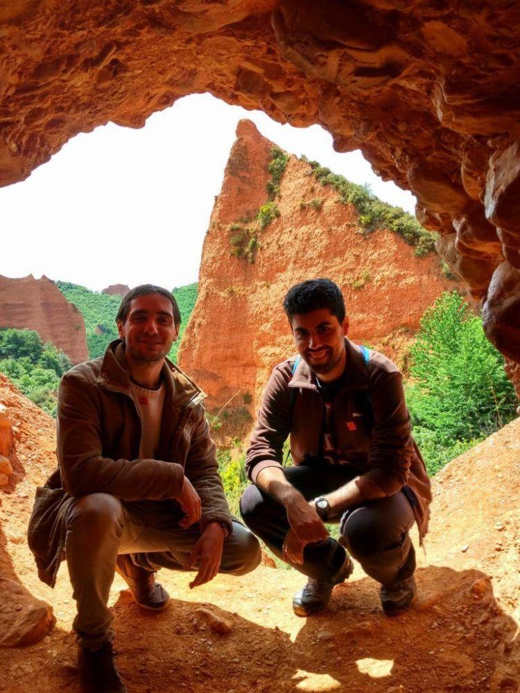 En la galería de la cueva encantada