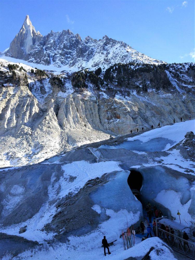 Entrada cueva_Mer de glace